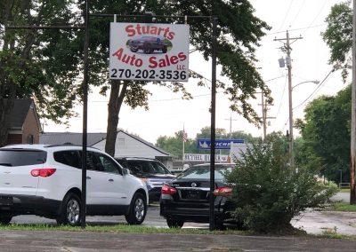 Stuarts auto sales